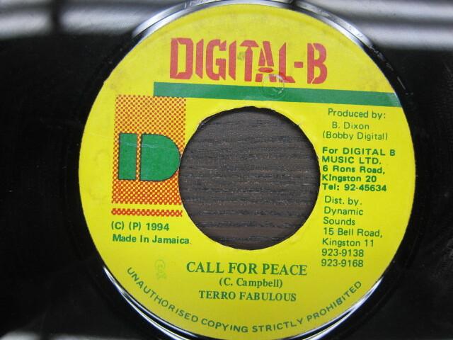 TERRO FABULOUS / CALL FOR PEACE / DIGITAL-B