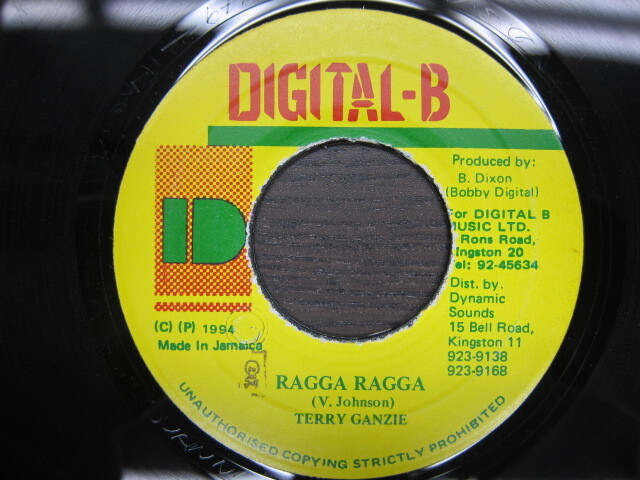 TERRY GANZIE / RAGGA RAGGA / DIGITAL-B