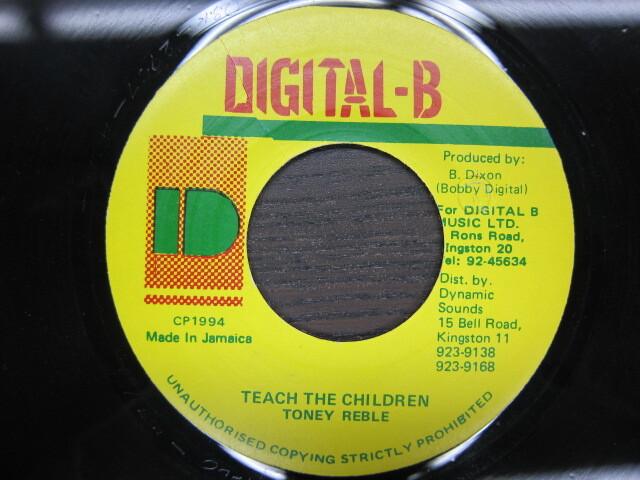 TONEY REBLE / TEACH THE CHILDREN / DIGITAL-B