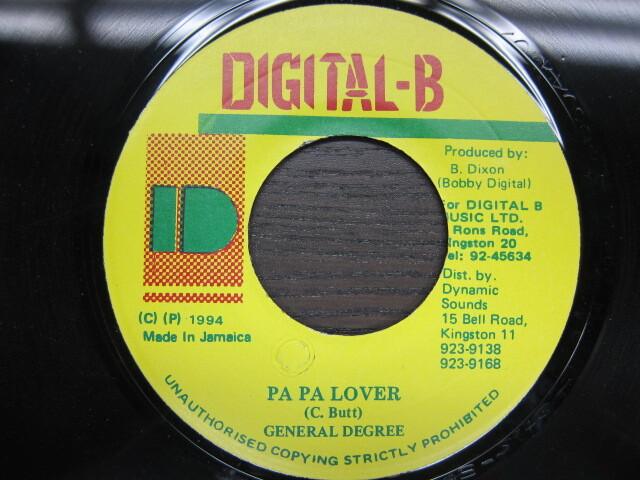 GENERAL DEGREE / PA PA LOVER / DIGITAL-B