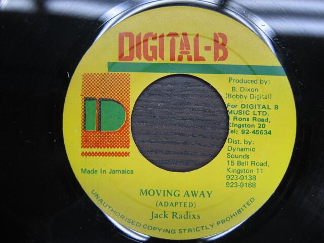 Jack Radixs / MOVING AWAY / DIGITAL-B