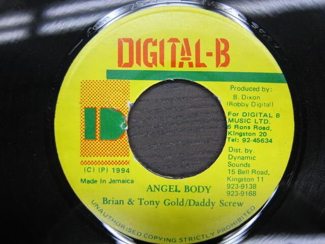 Brian & Tony Gold . Daddy Screw / ANGEL BODY / DIGITAL-B