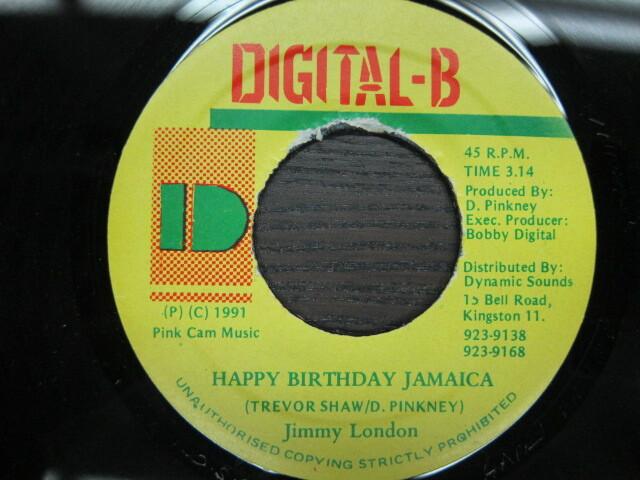 Jimmy London / HAPPY BIRTHDAY JAMAICA / DIGITAL-B