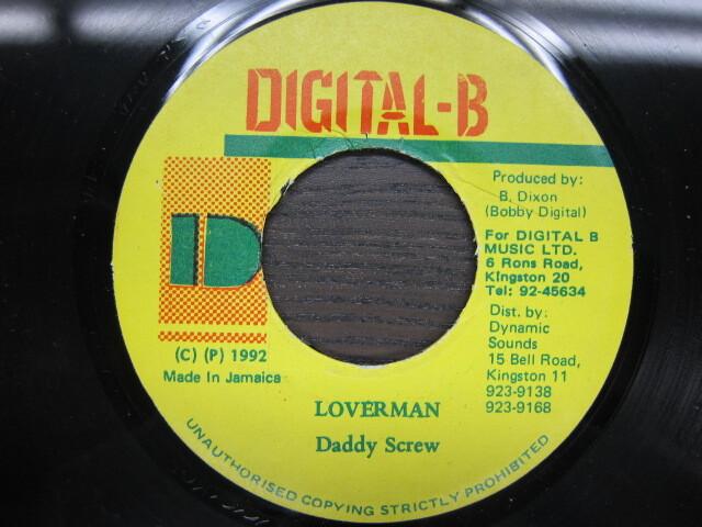 Daddy Screw / LOVERMAN / DIGITAL-B