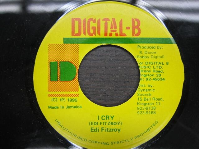 I CRY / Edi Fitzroy / DIGITAL-B