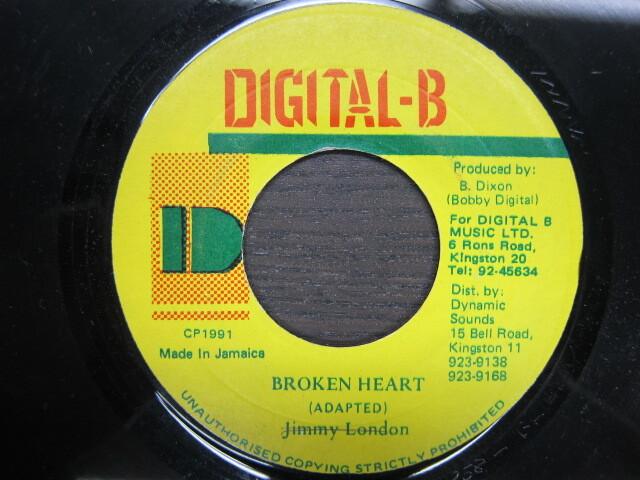 Jimmy London / BROKEN HEART / DIGITAL-B