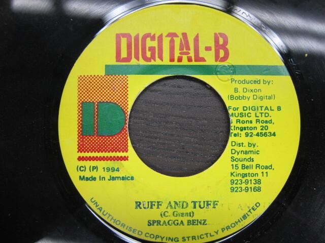 SPRAGGA BENZ / RUFF AND TUFF / DIGITAL-B