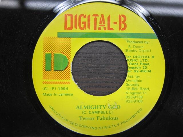 Terror Fabulous / ALMIGHTY GOD / DIGITAL-B