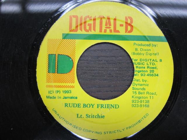 Lt.Stitchie / RUDE BOY FRIEND / DIGITAL-B
