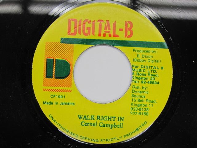 Cornel Campbell / WALK RIGHT IN / DIGITAL-B