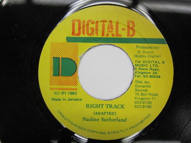 Nadine Sutherland / RIGHT TRACK / DIGITAL-B