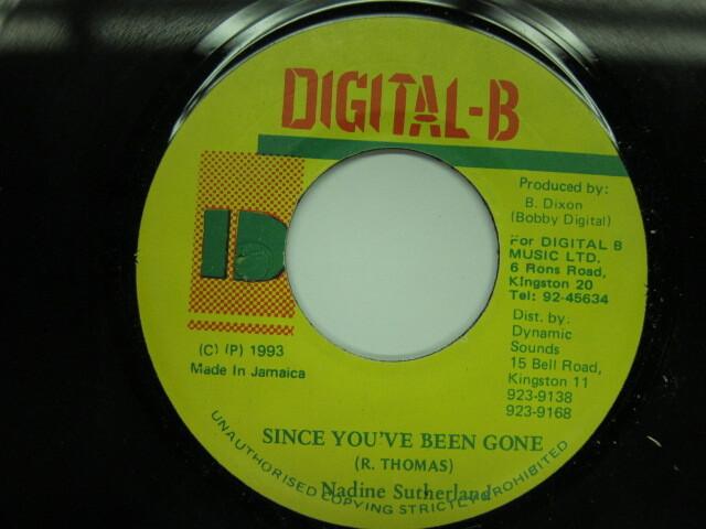 Nadine Sutherland / SINCE YOU'VE BEEN GONE / DIGITAL-B