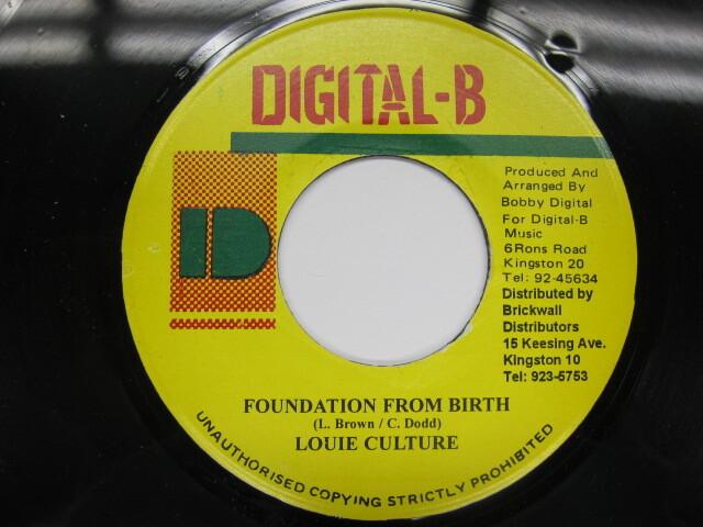 LOUIE CULTURE / FOUNDATION FROM BIRTH / DIGITAL-B
