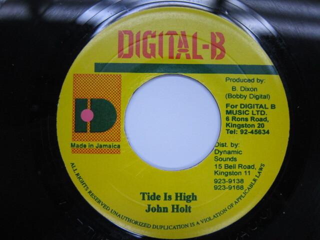 JOHN HOLT / TIDE HIGH / DIGITAL B