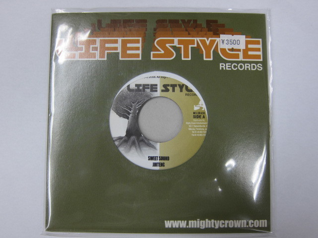Aside JINTENG / SWEET SOUND Bside H-MAN & ARARE / レゲエウイルス