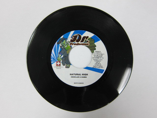 Aside HIBIKILLER & BAMBU / NATURAL HIGH Bside FATHER GIN,MAGURO MAN,TOYA,DR.MUNE / RUB A DUB BUS