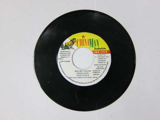 KING SATO B / BAD BOY SOUND / CHAINA MAN