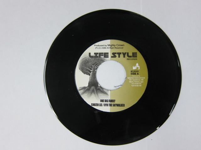 Aside CHEZEN LEE & RYO THE SKYWALKER / ONE BIG FAMILY Bside BIGGA RAIJI / ROAD TO … / LIFE STYLE