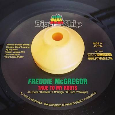 FREDDIE McGREGOR / TRUE TO MY ROOTS c/w YOUR LOVE'S GOTTA HOLD ON ME (7EP)