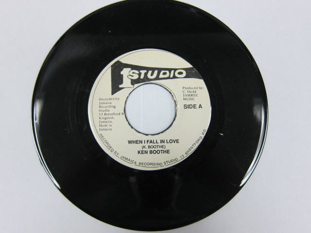 KEN BOOTHE / WHEN I FALL IN LOVE / STUDIO ONE