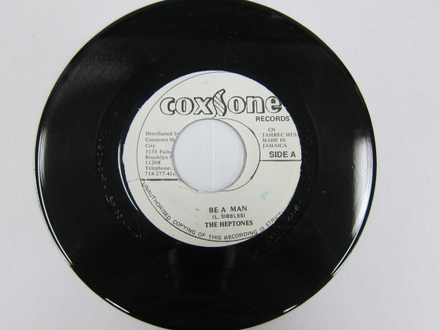 THE HEPTONES / BE A MAN / SOXSONE