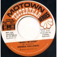 BRENDA HOLLOWAY / WHEN I'M GONE / MOTOWN