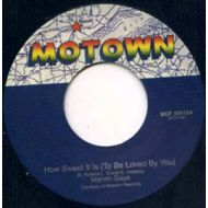 MARVIN GAYE / HOW SWEET IT IS (TO BE LOVED BY YOU) / MOTOWN