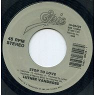 LUTHER VANDROSS / STOP TO LOVE / EPIC