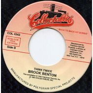 BROOK BENTON / THINK TWICE / COLLECTABLES