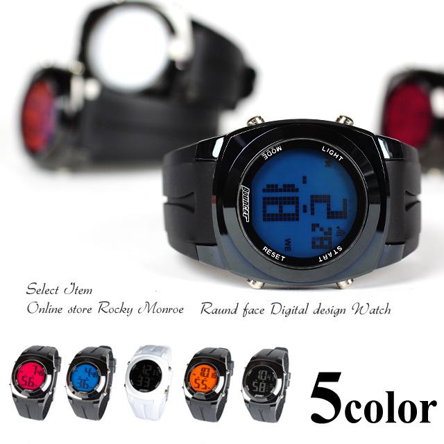 BOUNCER SPORTSバウンサースポーツデカデジ腕時計◆797