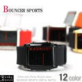 『BOUNCER SPORTS』バウンサースポーツデカデジ腕時計◆573