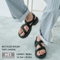 【MEI/メイ】Recycled nylon tape SANDAL◆11020