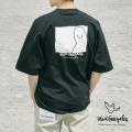 【MARK GONZALES/マークゴンザレス】ワンポイント刺繍 バックプリント S/S ビッグTEE◆11060
