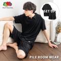 【FRUIT OF THE LOOM/フルーツオブザルーム】パイルルームウェア(襟付き)◆11066