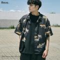 【Revo./レヴォ】タイガーパターン半袖シャツ◆11079