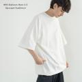 【Upscape Audience/アップスケープオーディエンス】日本製/国産 MVS天竺 アジャスター付きロングTシャツ◆11104