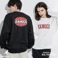 【KANGOL】×【Rocky Monroe】別注 裏起毛BIGクルーネックトレーナー◆11145
