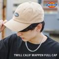 【Dickies/ディッキーズ】DK TWILL CALIF WAPPEN FULL CAP/ツイルベースボールキャップ◆11201