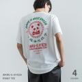 マルジー餃子×Rocky Monroe別注 バックプリントマルG半袖Tシャツ◆11211