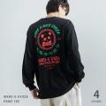 マルジー餃子×Rocky Monroe別注 バックプリントマルG長袖Tシャツ◆11212
