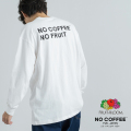 【NO COFFEE】×【FRUIT OF THE LOOM】 L/S Tee/長袖プリントTシャツ◆11238