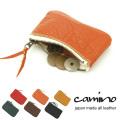 【Camino/カミノ】国産牛革レザーミニコインケース◆1925