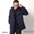 【SALE】【Audience】フード付きカルゼショールカラーPジャケット◆3200