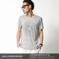 【SALE】【SALTY's×JACKSON MATISSE】SUNSHINEプリントクルーネック半袖Tシャツ◆4333