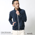 【SALE】【novel;/ノベル】襟ラインパイルジップジャケット◆4423