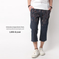 【LUKA&jean/ルカジーン】刺繍入りクロップドデニムパンツ◆4585