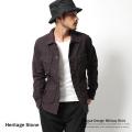 【Heritage Stone/ヘリテイジストーン】ファティーグミリタリーシャツ◆4928