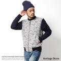 【Heritage Stone/ヘリテイジストーン】ジャズネップカモフラージュスタジャン◆5021
