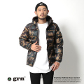 【grn/ジーアールエヌ】リップストップタフタダウンジャケット◆5082