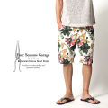 【SALE】【Four Seasons Garage by In bloom】ボタニカル柄ショートパンツ◆5317